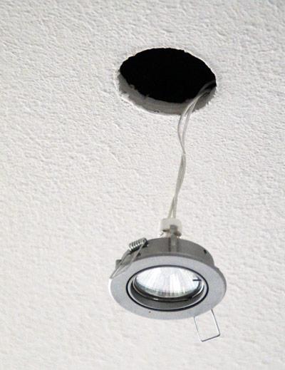 Colocar l mpara hal gena o led bdbn - Instalar lampara techo ...