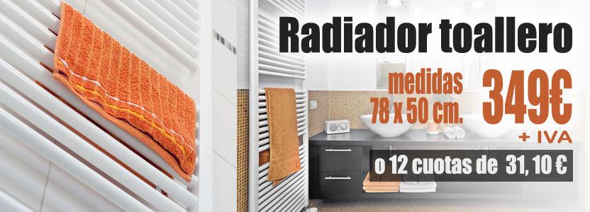 Instalaci n de radiador toallero toallero con for Precio radiador toallero