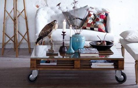 Hacer una mesa con pal s reciclados sin ser carpintero bdbn - Reciclaje de pales ...