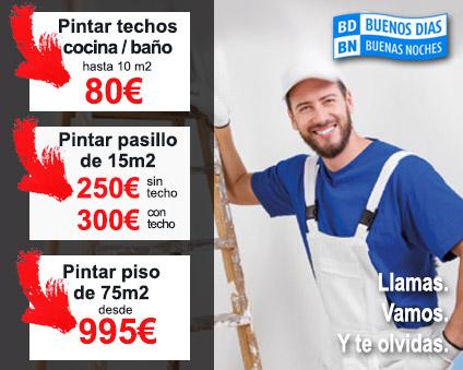 Pintar techo de cocina pintores bdbn for Pintar techo cocina