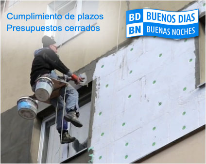 reparaciones en fachada