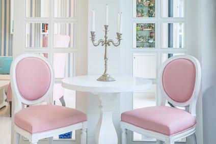 sillas-tapizadas-rosa