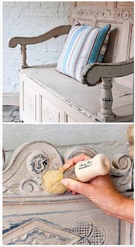 Pintura a la tiza para restauración o lacado de muebles | BDBN