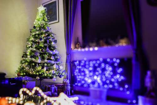 Los riesgos eléctricos durante la Navidad
