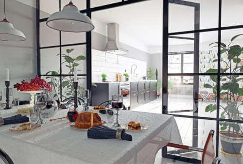 Cerramientos de cristal para cocinas